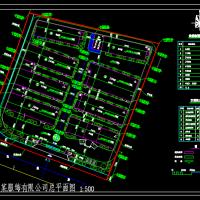 服装厂区规划图