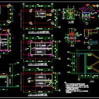 钢结构楼梯CAD设计图