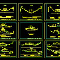 高速公路路基标准横断面图