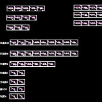 多种分级公路标准横断面CAD图