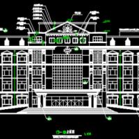 5883平米五层砖混结构医院建筑施工图