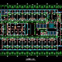 32797平米12层框架结构儿童医院建筑施工图