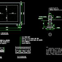 标准门球场做法CAD大样图