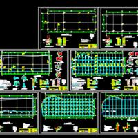 5层型钢混凝土结构酒店施工图