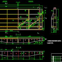 溢洪道6.0-3.8m钢闸门金属结构图