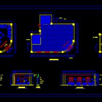 咖啡馆室内装修设计方案图