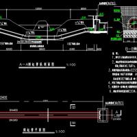 某工程倒虹吸管设计CAD图纸