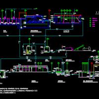工业园区污水处理厂全套施工图(含建筑、结构、电气、给排水)