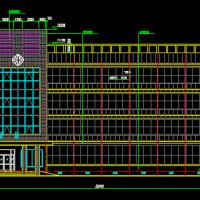 2650平米四层医院门诊楼建筑设计图
