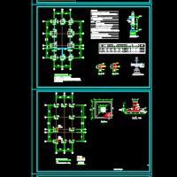 某框架结构换热站结构设计施工图(独立基础)