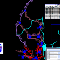 小流域水土保持农田水利设计图