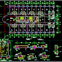 25层框剪结构酒店建筑施工图纸
