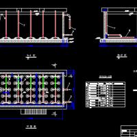 生活污水生物处理SBR池工艺设计图