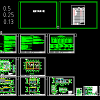 2231平米垃圾转运站建筑设计图纸