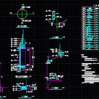 工厂80m烟囱施工图