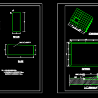 沥青混凝土路面结构CAD图纸