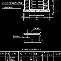 各种型号尺寸埋地砖砌电缆沟设计图