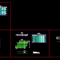 现浇盖板涵CAD结构通用图