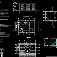 2层住宅楼建筑结构毕业设计及投标文件(图纸、清单计价、进度表)