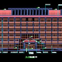 6060平米6层调度楼毕业设计(招标文件 技术标 商务标 图纸 施工布置 施工进度)