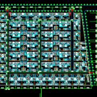 北京某大型四合院住宅规划设计CAD图