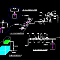 节水灌溉工程首部枢纽CAD图集(微灌)