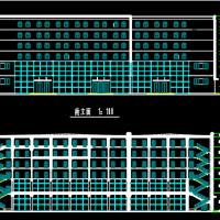 5042平米六层框架结构商业楼全套毕业设计(计算书 施组 任务书 图纸)