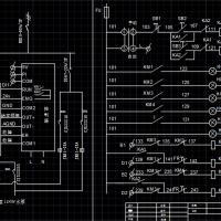 变频恒压供水电路系统图(一用一备)