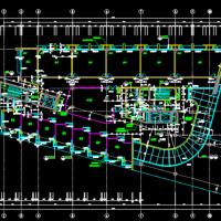 某大学11层教学综合楼建筑施工图