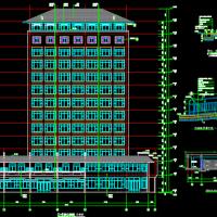 9336平米应急救援指挥中心大楼建筑图(一等人员掩蔽所)