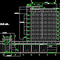 11层银行大楼建筑设计施工图(含金库)