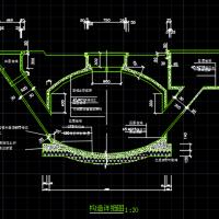 水压式沼气池Cad设计图纸