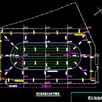 五人制足球场及轮滑场CAD设计图