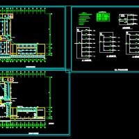 农信银行营业厅电气设计装修图