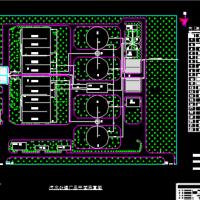12万吨污水处理厂工程设计图及毕业设计计算书