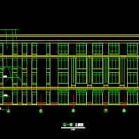 2762平米四层小学配套用房造价毕业设计(含图纸)