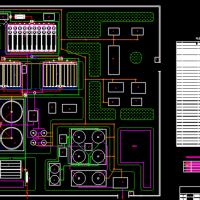 某污水处理厂总平面及构筑物详图