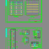 墙体干挂铝板详细节点CAD详图