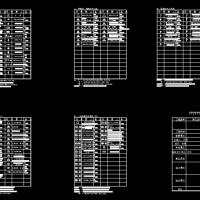 消防器材标识CAD图例
