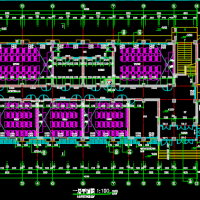 4954平米河南某中学实验楼建结水电全套图纸
