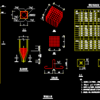 预制方桩结构大样CAD图