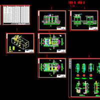 臭氧氧化池CAD图纸