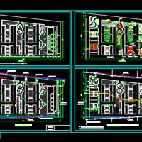 驾校场地绿化及平面布置CAD图