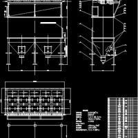 脉冲袋式除尘器CAD图