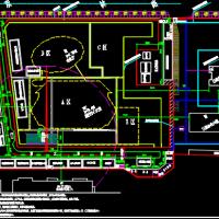 集控中心大楼施工现场平面布置图及临时设施详图(中建)