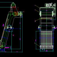 机械格栅CAD图纸