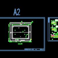 某学校门球场及遮阳棚设计施工图纸