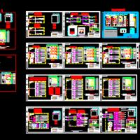 配电箱生产图及元配件(正泰元件)