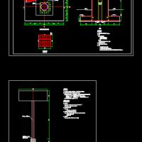 广告牌设计施工图(附带计算书)