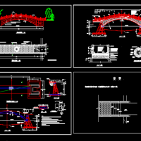 某石拱桥CAD施工图